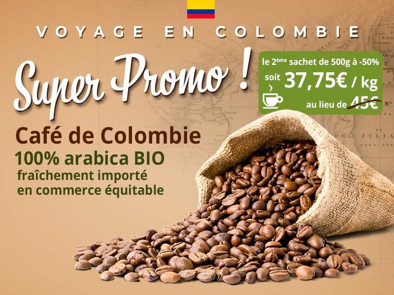 Promo café Colombie